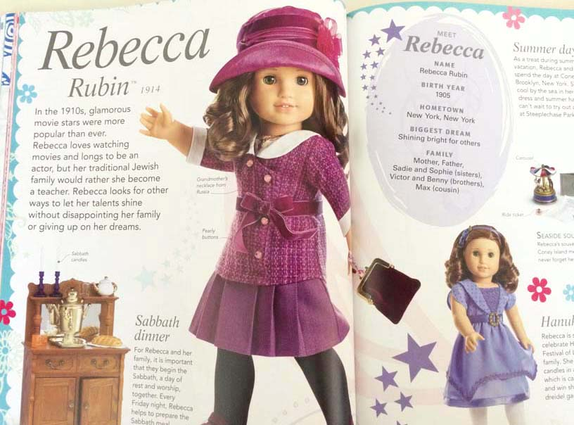 meet rebecca rubin american girl Buying american girl dolls and historical american girl dolls represent girls from different places and time periods rebecca rubin 2009 1934 kit.
