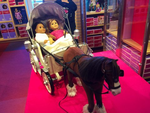 American Girl Pretty City Carriage