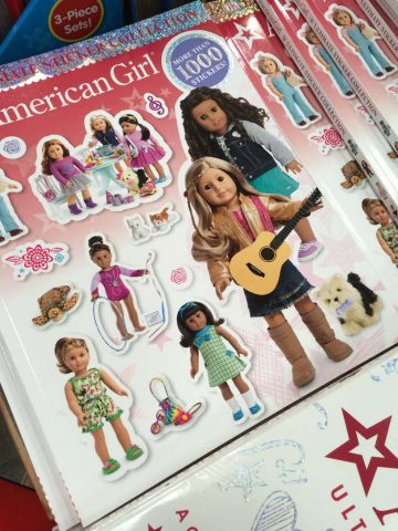 American Girl Ultimate Visual Guide and Sticker Collection