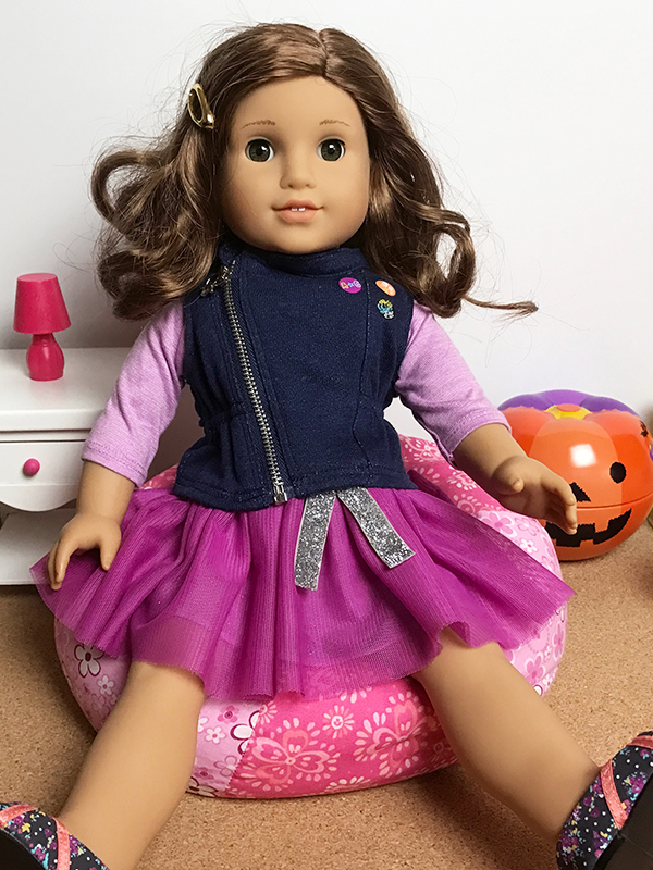 Fabulous Doll Sized Bean Bag Chair Cushion For Ag Dolls American Gmtry Best Dining Table And Chair Ideas Images Gmtryco