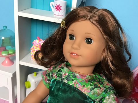 american-girl-rebecca-rubin-green-satin-lace-dress