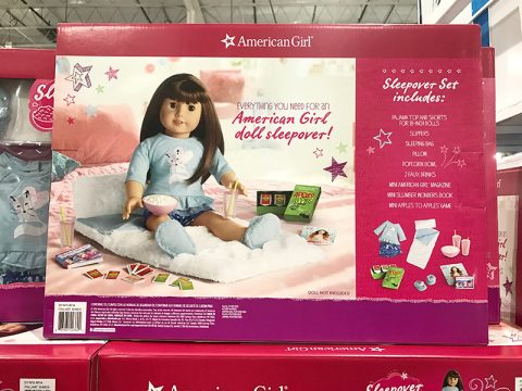 american-girl-costco-sleepover-set
