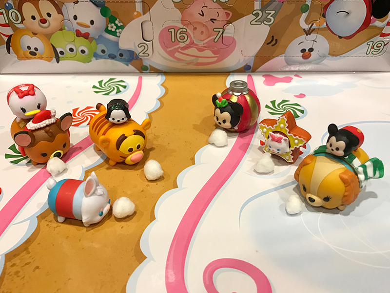 24 days of christmas disney tsum tsum countdown to. Black Bedroom Furniture Sets. Home Design Ideas