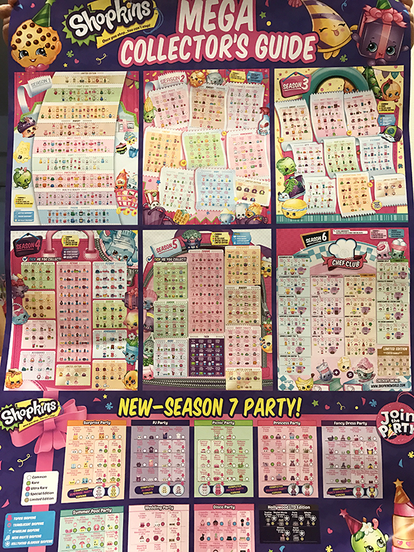picture about Shopkins Season 3 List Printable referred to as Shopkins 1 record
